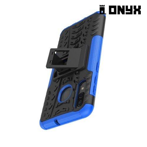 ONYX Противоударный бронированный чехол для Samsung Galaxy A50 / A30s - Синий
