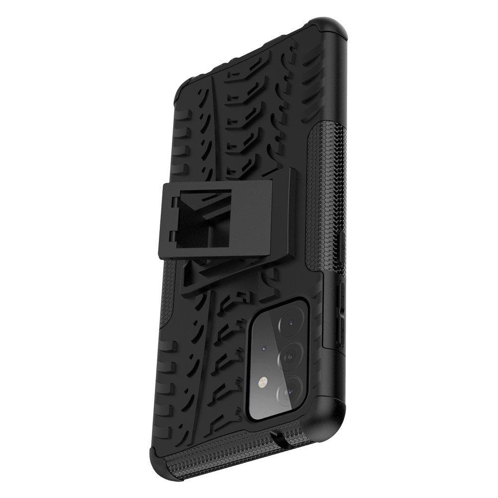 ONYX Противоударный бронированный чехол для Samsung Galaxy A72 - Черный