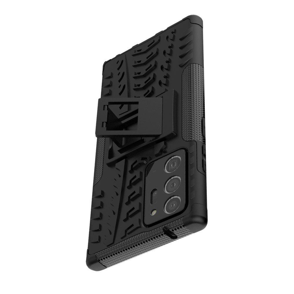 ONYX Противоударный бронированный чехол для Samsung Galaxy Note 20 Ultra - Черный