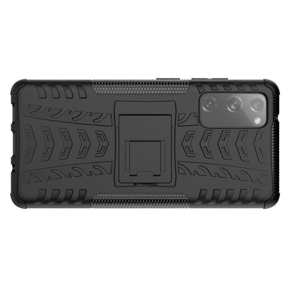 ONYX Противоударный бронированный чехол для Samsung Galaxy S20 FE - Черный