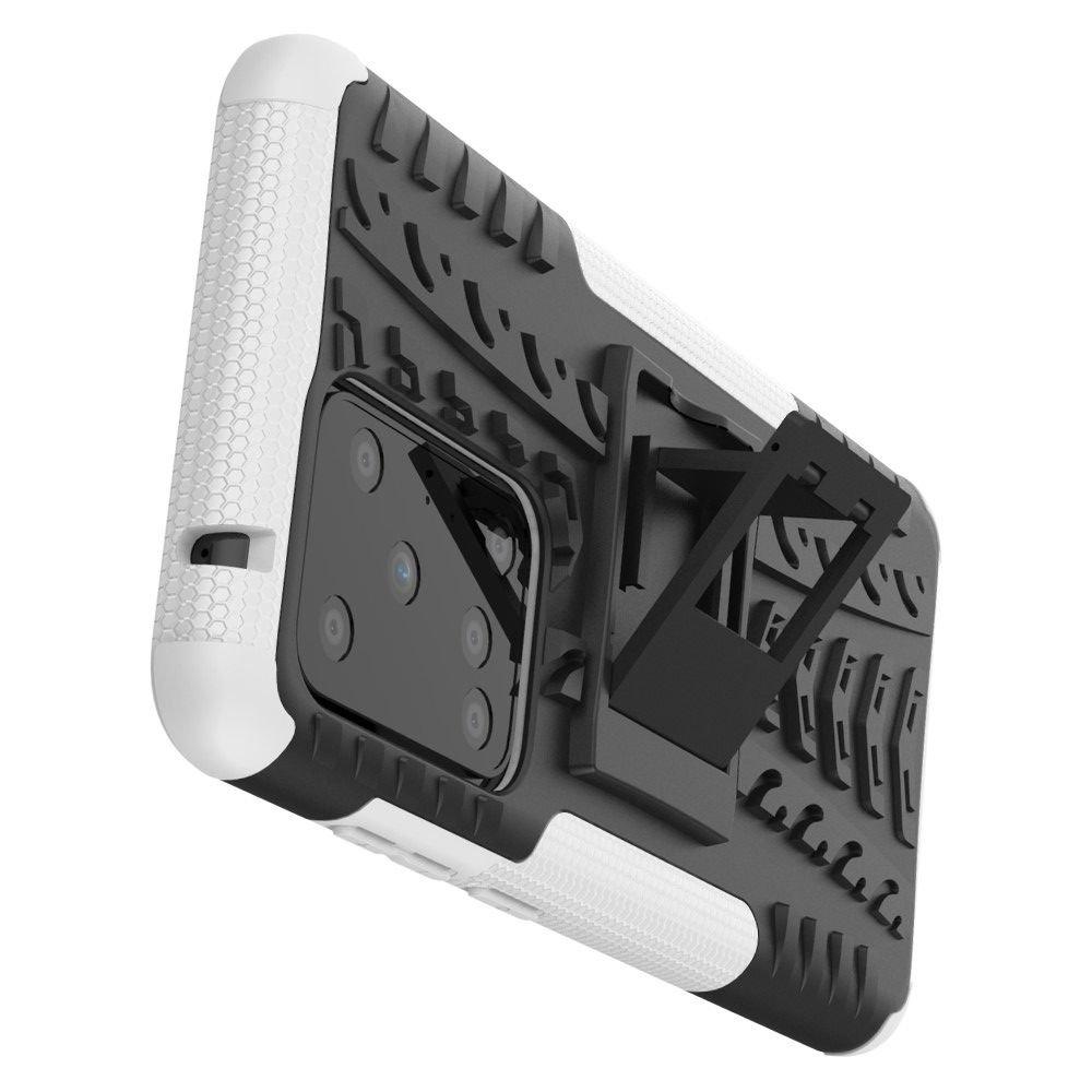 ONYX Противоударный бронированный чехол для Samsung Galaxy S20 Ultra - Белый