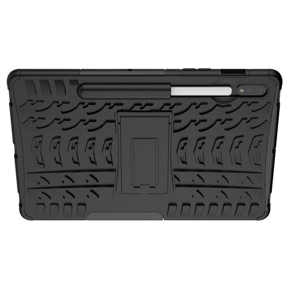 ONYX Противоударный бронированный чехол для Samsung Galaxy Tab S7 - Черный