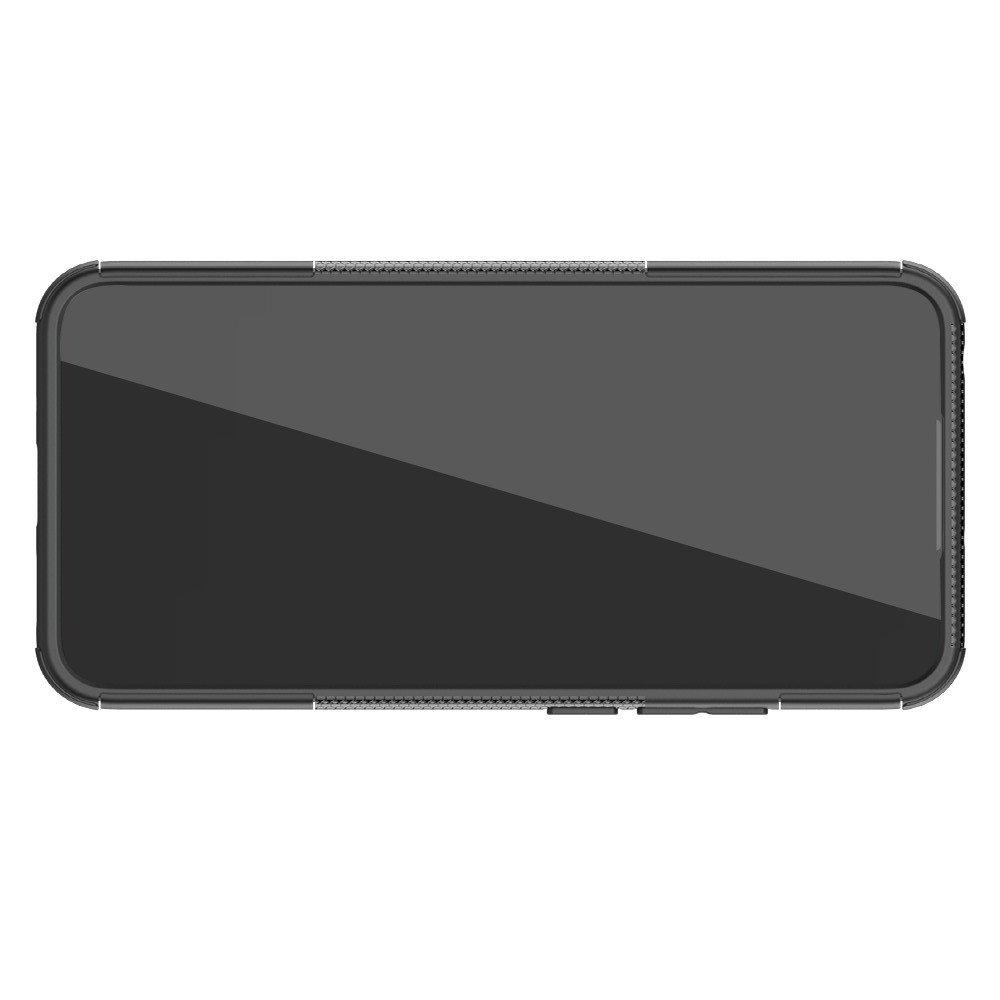 ONYX Противоударный бронированный чехол для Xiaomi Redmi 9C - Черный