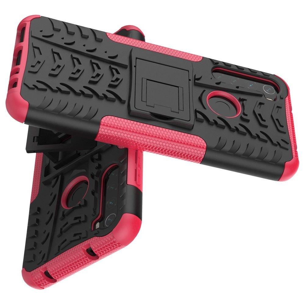 ONYX Противоударный бронированный чехол для Xiaomi Redmi Note 8T - Светло-Розовый