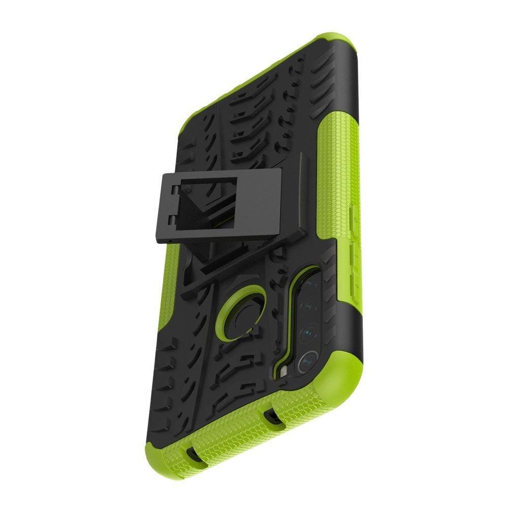 ONYX Противоударный бронированный чехол для Xiaomi Redmi Note 8T - Зеленый