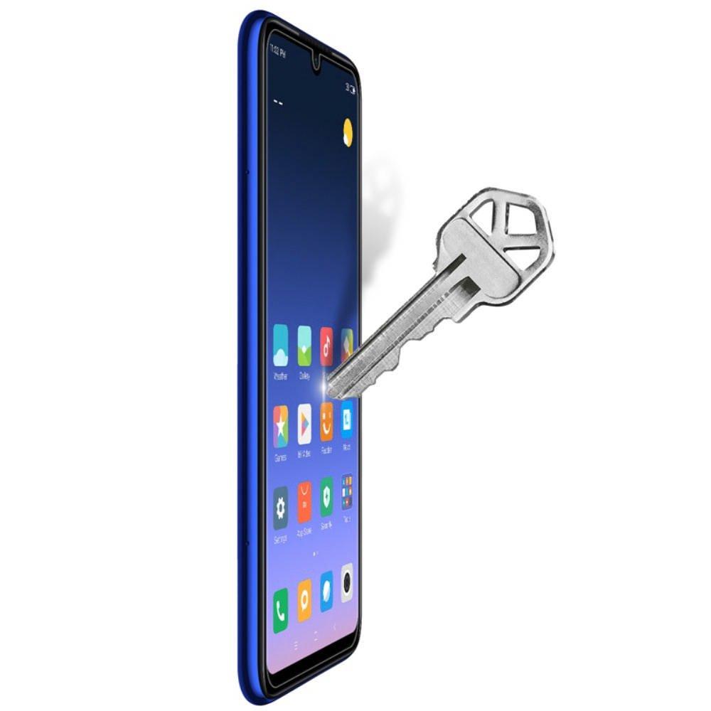 Противоударное закаленное олеофобное защитное стекло на Xiaomi Redmi Note 8 Nillkin Amazing H