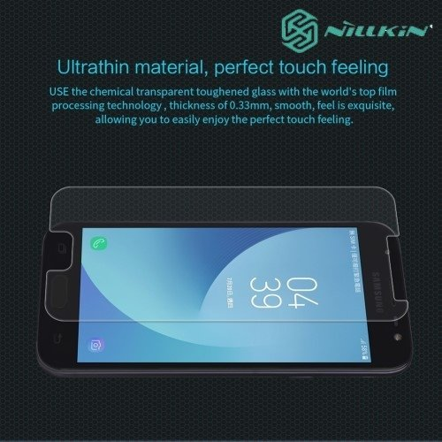 Противоударное закаленное стекло на Samsung Galaxy J3 2017 SM-J330F Nillkin Amazing 9H
