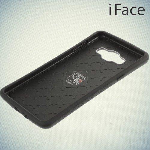 Противоударный чехол для Samsung Galaxy A7 - черный iFace