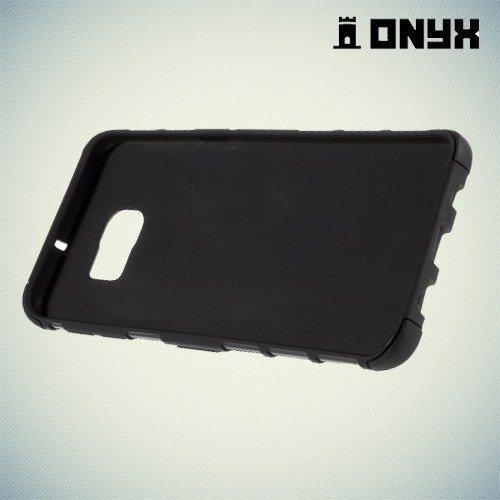 Противоударный чехол для Samsung Galaxy S6 Edge+ Onyx - Черный