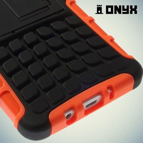 Противоударный защитный чехол для Samsung Galaxy A5 - оранжевый