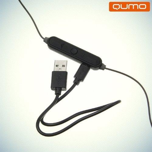 Qumo Freedom Style mini беспроводная bluetooth гарнитура с микрофоном