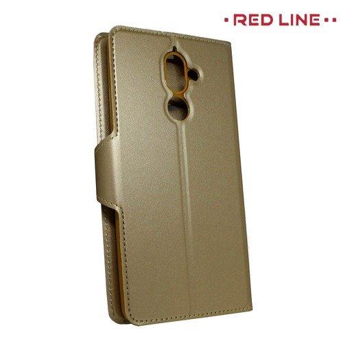 Red Line Flip Book чехол для Nokia 7 Plus - Золотой