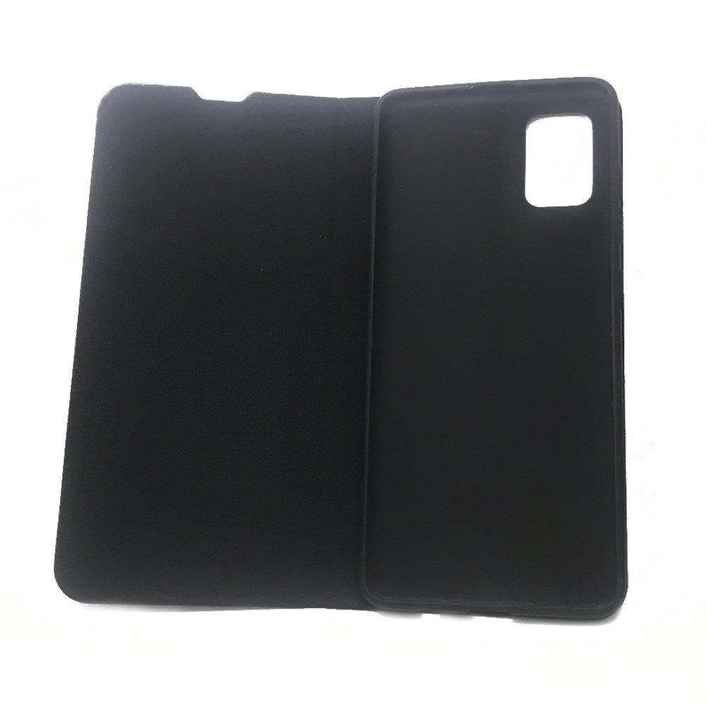 Red Line Flip Book чехол для Samsung Galaxy A71 - Черный