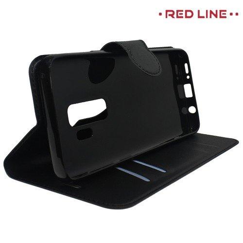 Red Line Flip Book чехол для Samsung Galaxy S9 Plus - Черный
