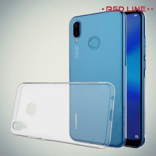 RedLine силиконовый прозрачный чехол Huawei P20 Lit
