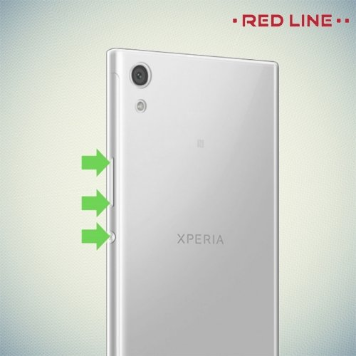 Red line sony xperia xa1 for Red line printing