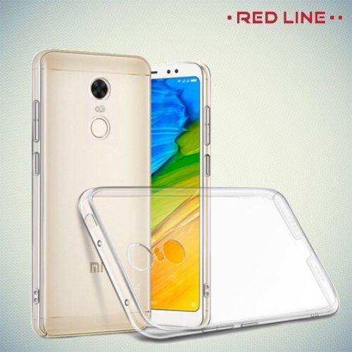 Red Line Redmi 5 Clear Case