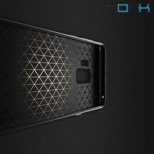 ROCK Royce Series Гибридный двухкомпонентный защитный чехол для Samsung Galaxy S9 Plus - Серый
