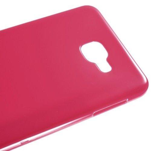 Силиконовый чехол для Samsung Galaxy A9 (2016) - Глянцевый Розовый