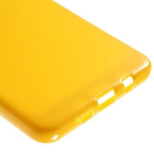 Силиконовый чехол для Samsung Galaxy A9 (2016) - Глянцевый Желтый