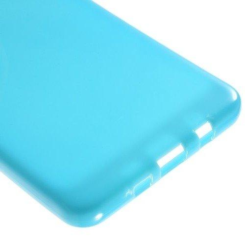 Силиконовый чехол для Samsung Galaxy A9 (2016) - Глянцевый Голубой