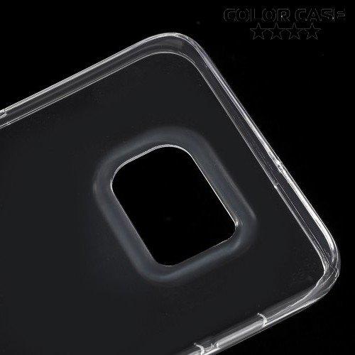 Силиконовый чехол для Samsung Galaxy S6 Edge Plus - Прозрачный
