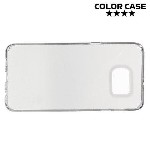 Силиконовый чехол для Samsung Galaxy S6 Edge Plus - Черный