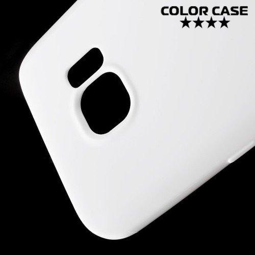 Силиконовый чехол для Samsung Galaxy S7 - Глянцевый Белый