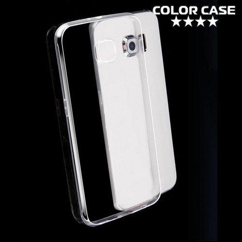 Силиконовый чехол для Samsung Galaxy S7 - Глянцевый Прозрачный
