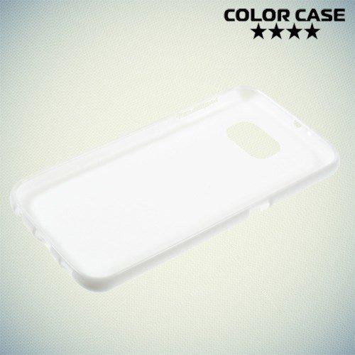 Силиконовый чехол для Samsung Galaxy S6 - белый