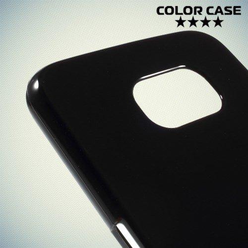 Силиконовый чехол для Samsung Galaxy S6 - черный