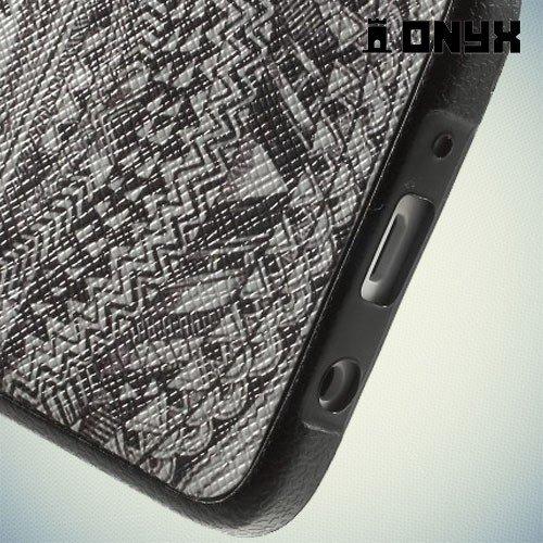 Силиконовый чехол под кожу для Samsung Galaxy A3 - Глаз Гора