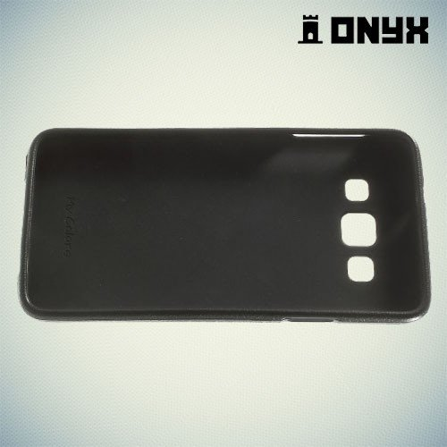 Силиконовый чехол под кожу для Samsung Galaxy A3 - Хаки