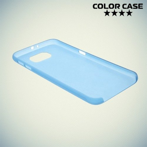 Тонкий чехол для Samsung Galaxy S6 - синий