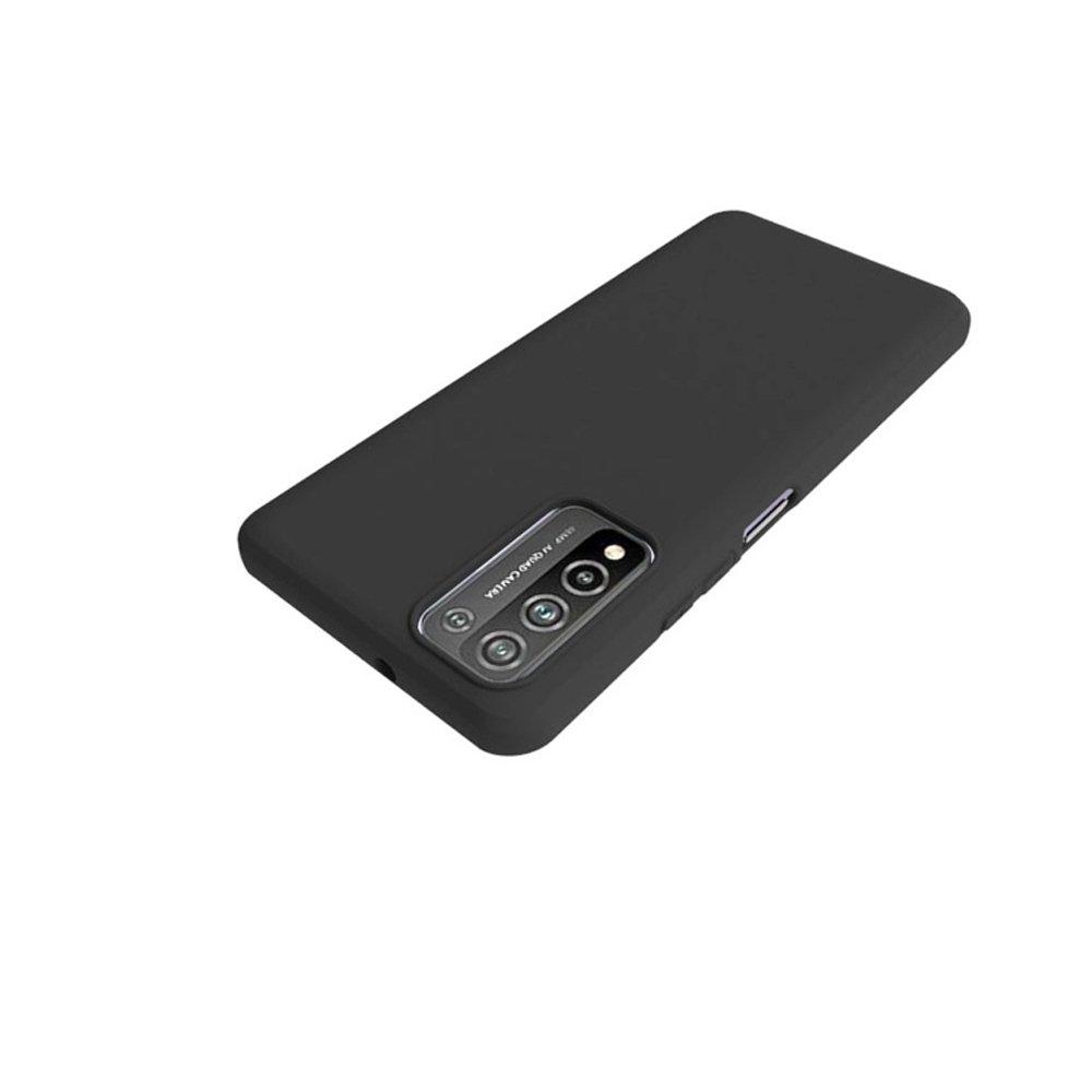 Ультратонкий черный силиконовый чехол для Huawei Honor 10X Lite