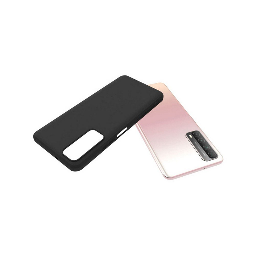 Ультратонкий черный силиконовый чехол для Huawei P Smart 2021