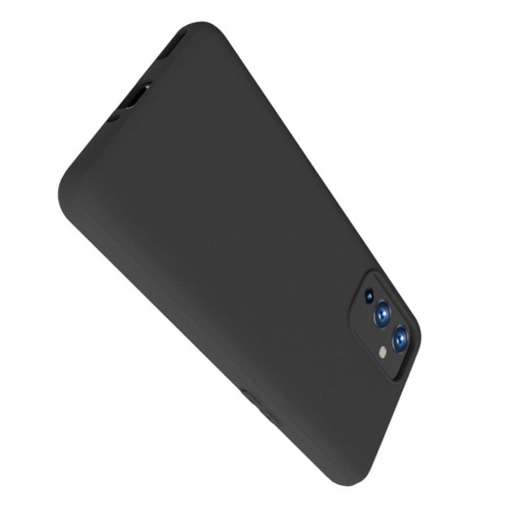 Ультратонкий черный силиконовый чехол для OnePlus 9