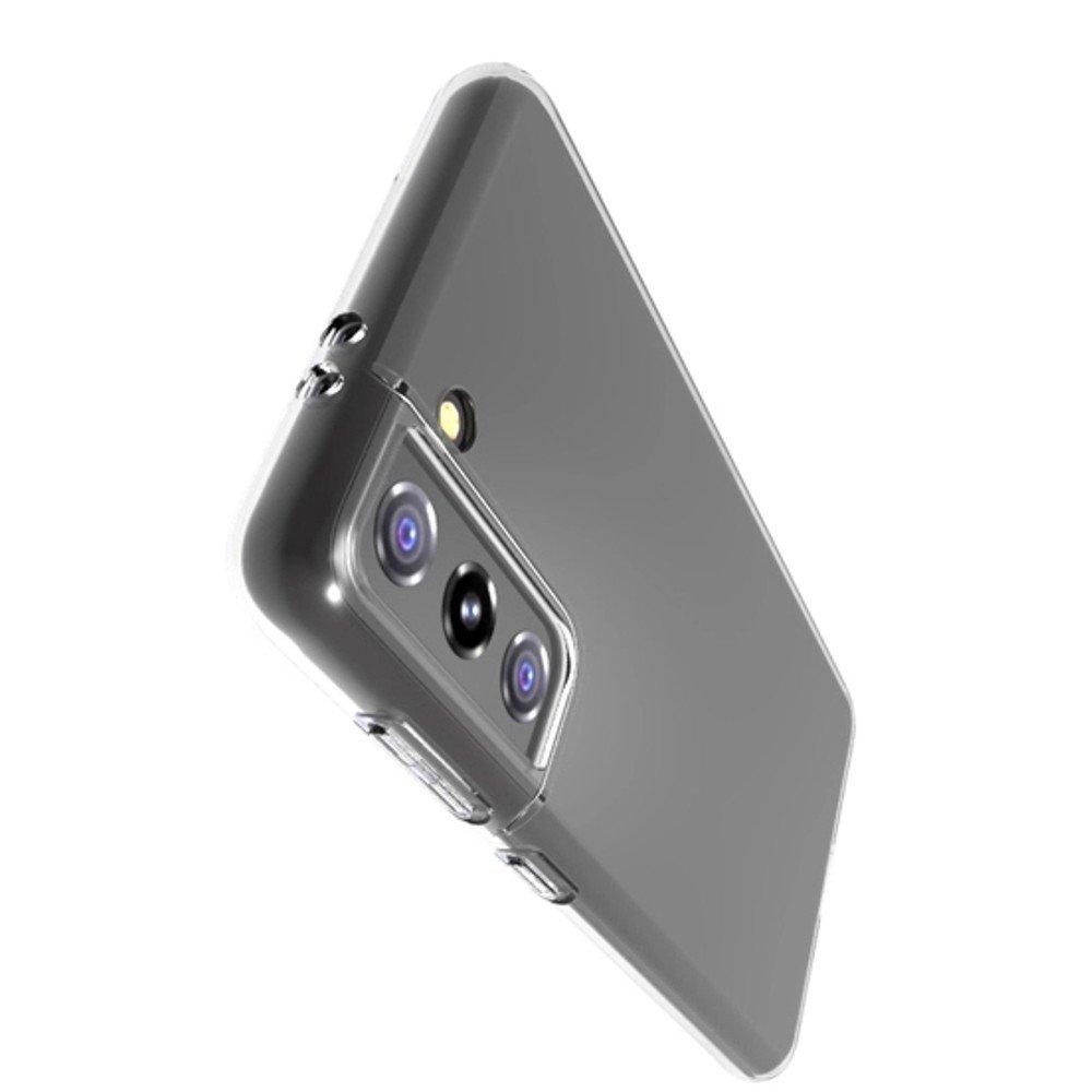 Ультратонкий прозрачный силиконовый чехол для Samsung Galaxy S21