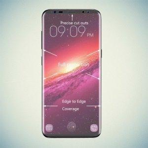 Fullscreen Закругленная 3D защитная пленка на экран Samsung Galaxy S9 Plus