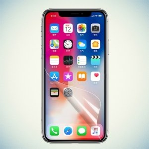 Гибкая защитная пленка на весь экран для iPhone Xs / X