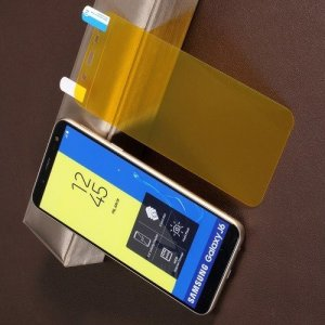 Гибкая защитная пленка на весь экран для Samsung Galaxy J6 2018 SM-J600F