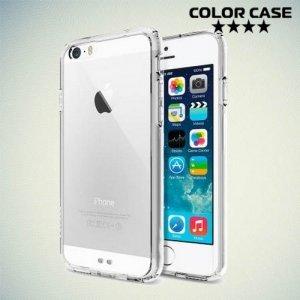 Гибридный чехол для iPhone 6S / 6 - Прозрачный