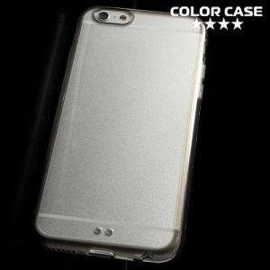 Гибридный прозрачный чехол для iPhone 6S / 6 - Серый
