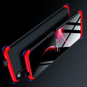 GKK 360 Пластиковый чехол с защитой дисплея для Huawei Honor 9X / 9X Premium Красный / Черный