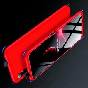 GKK 360 Пластиковый чехол с защитой дисплея для Huawei Honor 9X / 9X Premium Красный