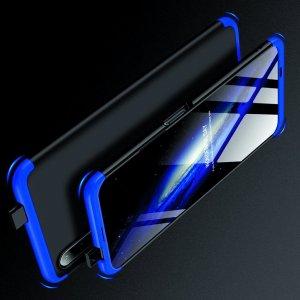 GKK 360 Пластиковый чехол с защитой дисплея для Huawei Honor 9X / 9X Premium Синий / Черный