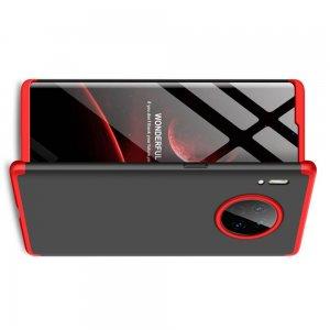 GKK 360 Пластиковый чехол с защитой дисплея для Huawei Mate 30 Pro Красный / Черный