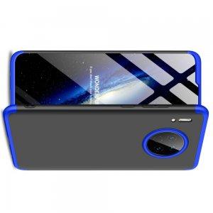 GKK 360 Пластиковый чехол с защитой дисплея для Huawei Mate 30 Синий / Черный