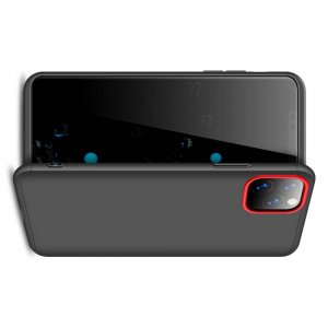 GKK 360 Пластиковый черный чехол с защитой дисплея для iPhone 11 Pro Max
