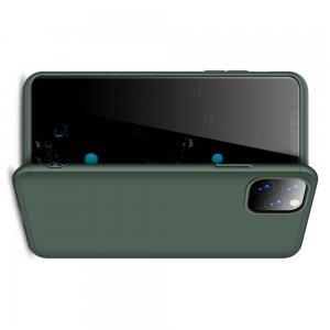 GKK 360 Пластиковый чехол с защитой дисплея для iPhone 11 Pro Max Зеленый